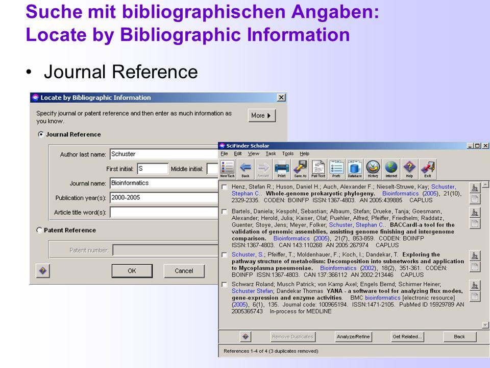 Alphabetische Autorenliste