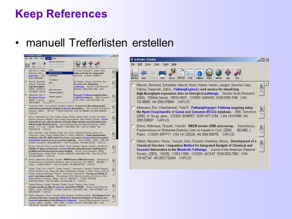 Vollständiger Nachweis einer Textstelle Bei elektronisch verfügbaren Textstellen findet man rechts dieses Heftseite-Symbol