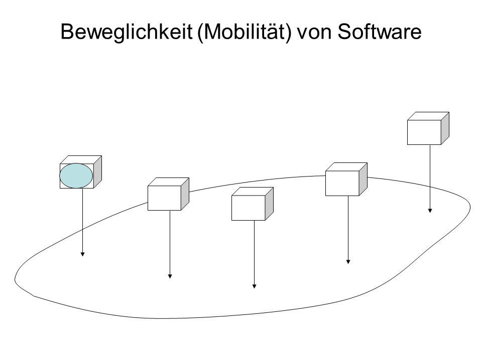 Beweglichkeit (Mobilität) von Software