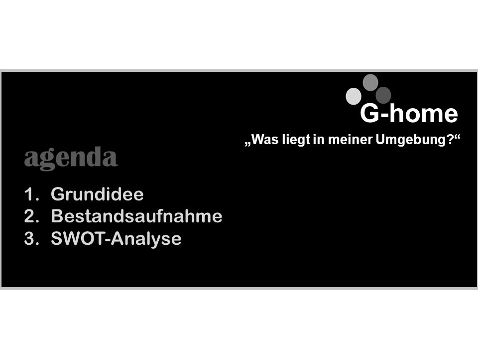Professionelles Projektmanagement G ^ Die Grundidee 1.