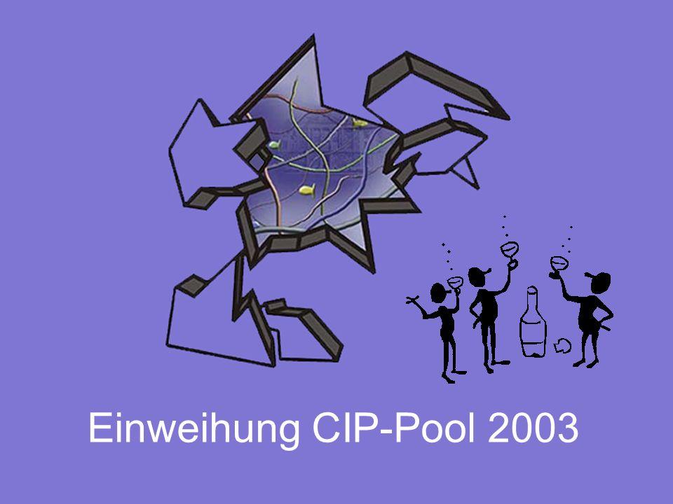 Einweihung CIP-Pool 2003