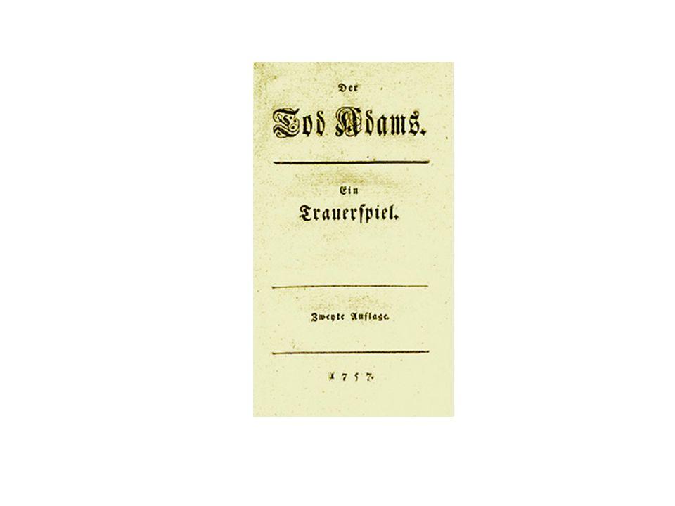 Goethe: Erschaffen und beleben (aus: West-östlicher Divan) Hans Adam war ein Erdenkloß, Den Gott zum Menschen machte, Doch bracht er aus der Mutter Schoß Noch vieles Ungeschlachte.