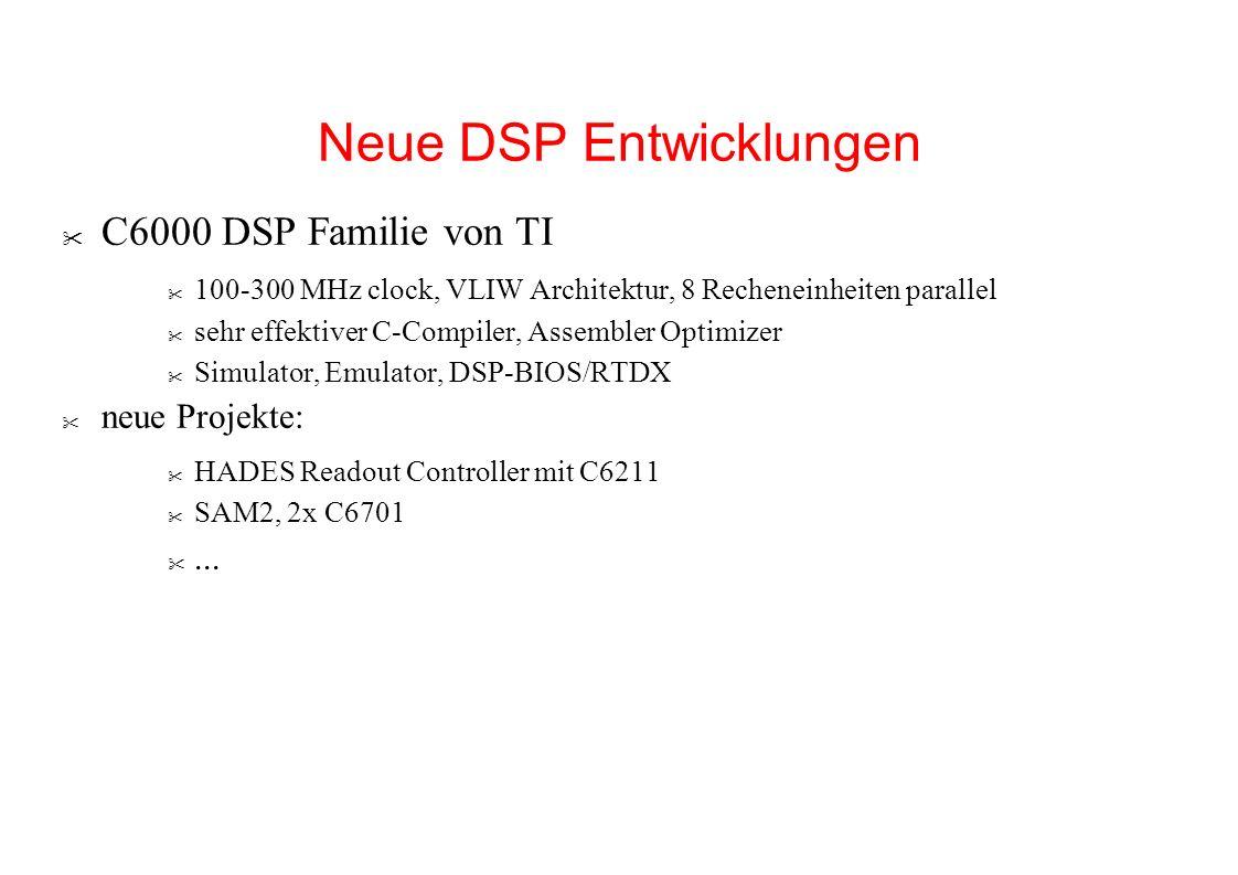 Neue DSP Entwicklungen