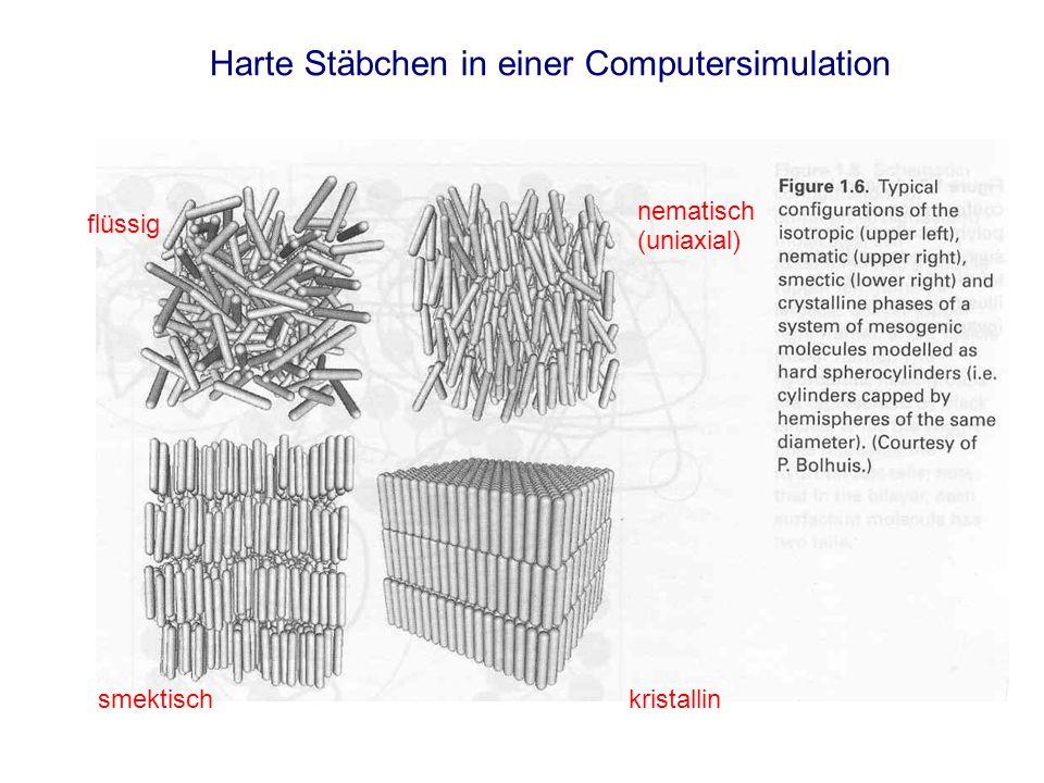 (Fast) uniaxiale molekulare Bausteine