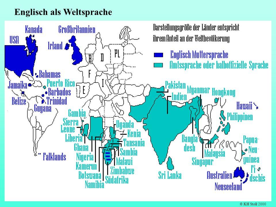 Englisch als Weltsprache © KH Stoll 2000