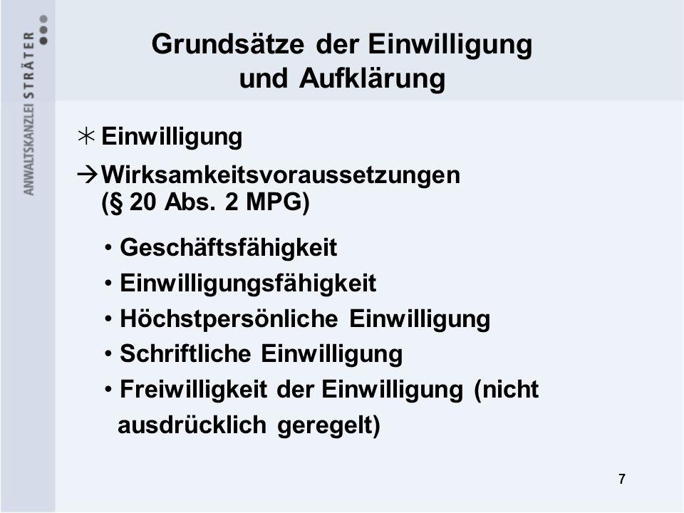 8 Klinische Prüfung bei Minderjährigen (§ 20 Abs.