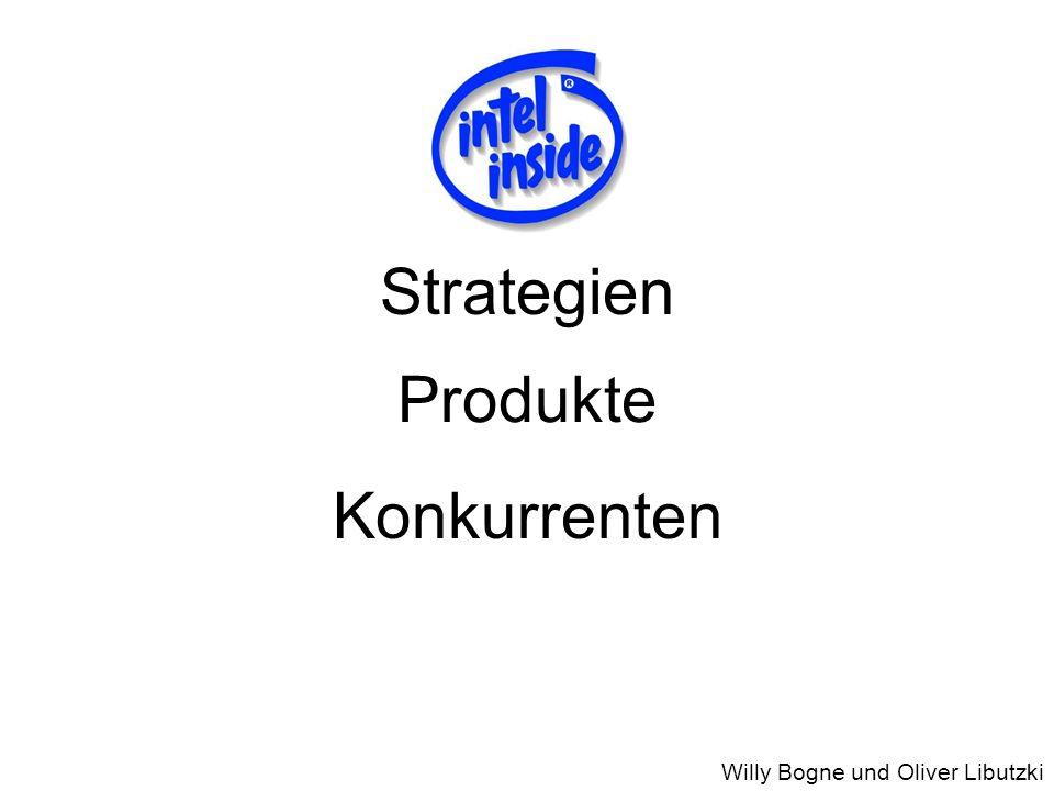 Strategien Produkte Konkurrenten Willy Bogne und Oliver Libutzki Einführung