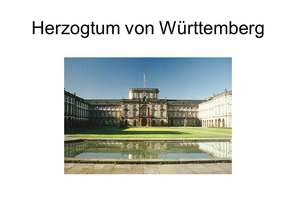 Herzogtum von Württemberg