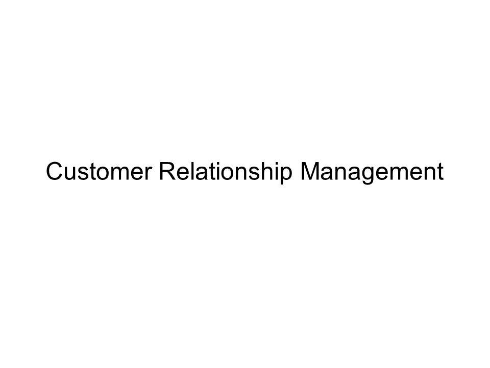 92 CRM Analyseinstrumente Kundenzufriedenheit Kundenbindung Beschwerdemanagement RFM Analyse Kundenwert Customer Lifetime Value