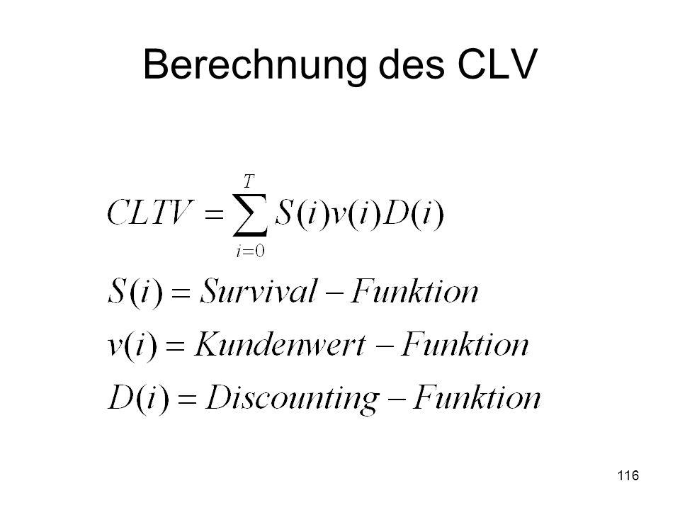 116 Berechnung des CLV