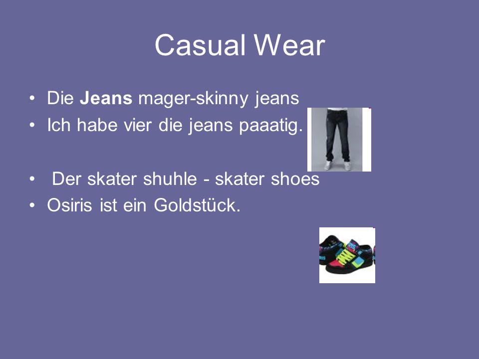 Casual Wear Die Jeans mager-skinny jeans Ich habe vier die jeans paaatig.