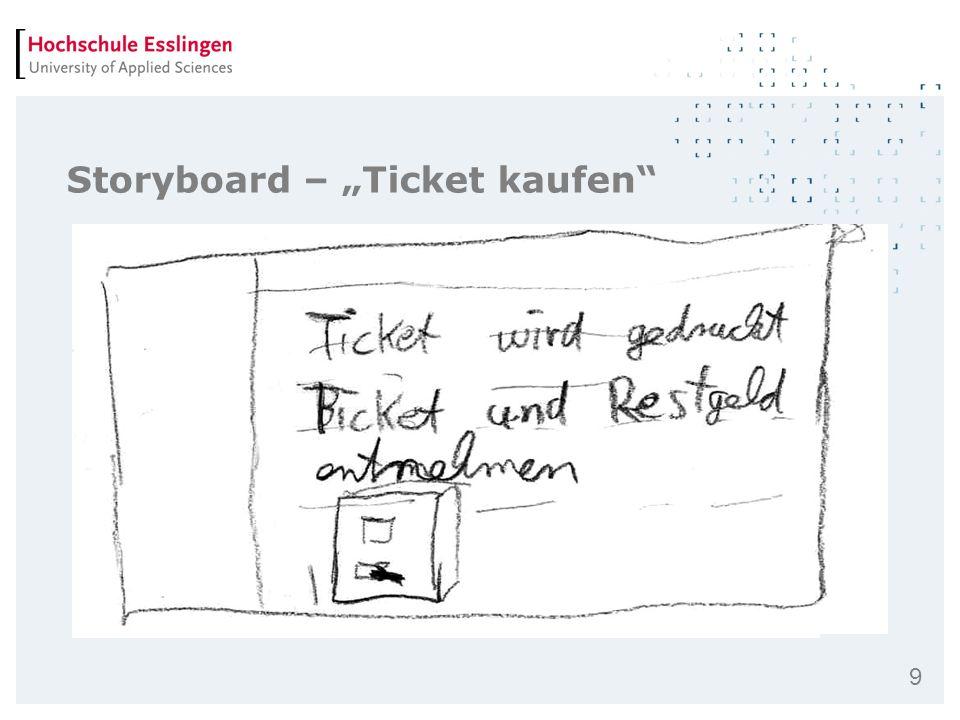 9 Storyboard – Ticket kaufen