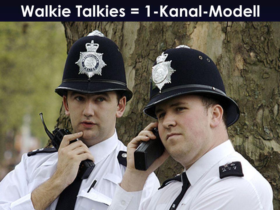 26 Walkie Talkies = 1-Kanal-Modell