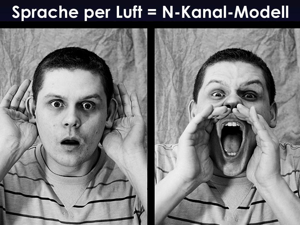 30 % Sprache per Luft = N-Kanal-Modell