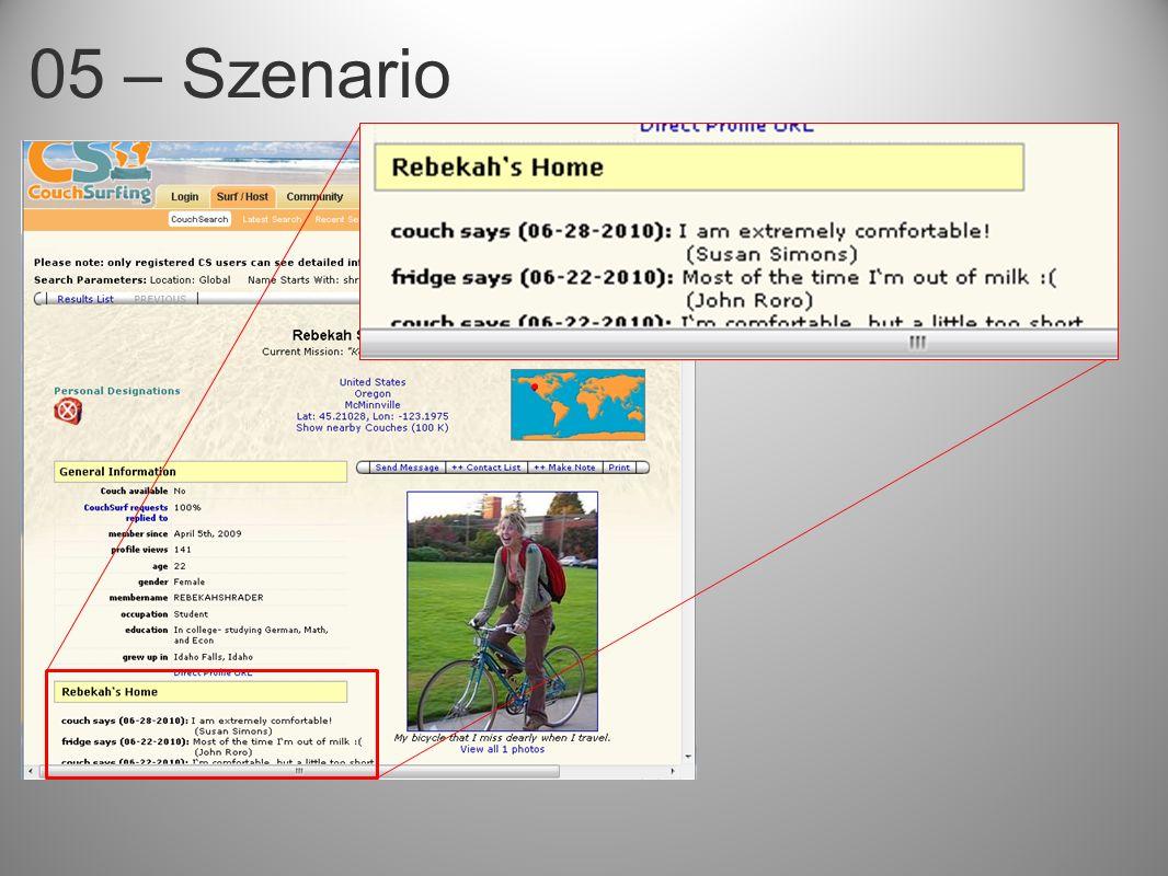 05 – Szenario