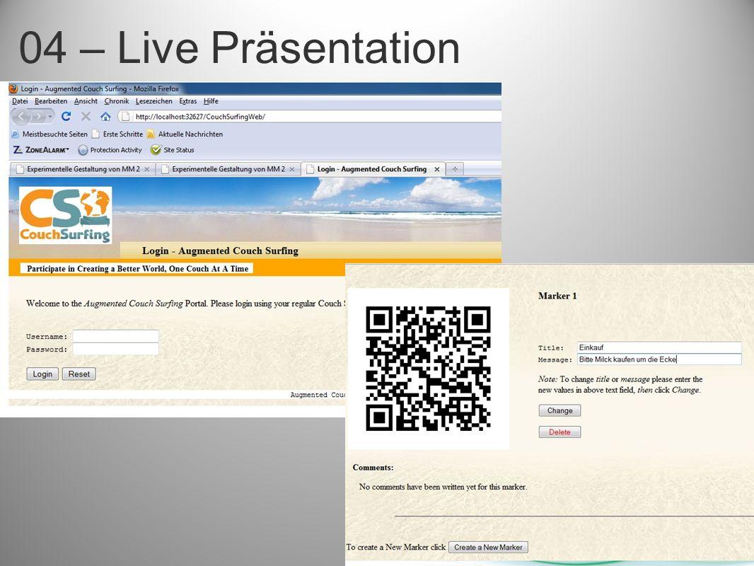 04 – Live Präsentation