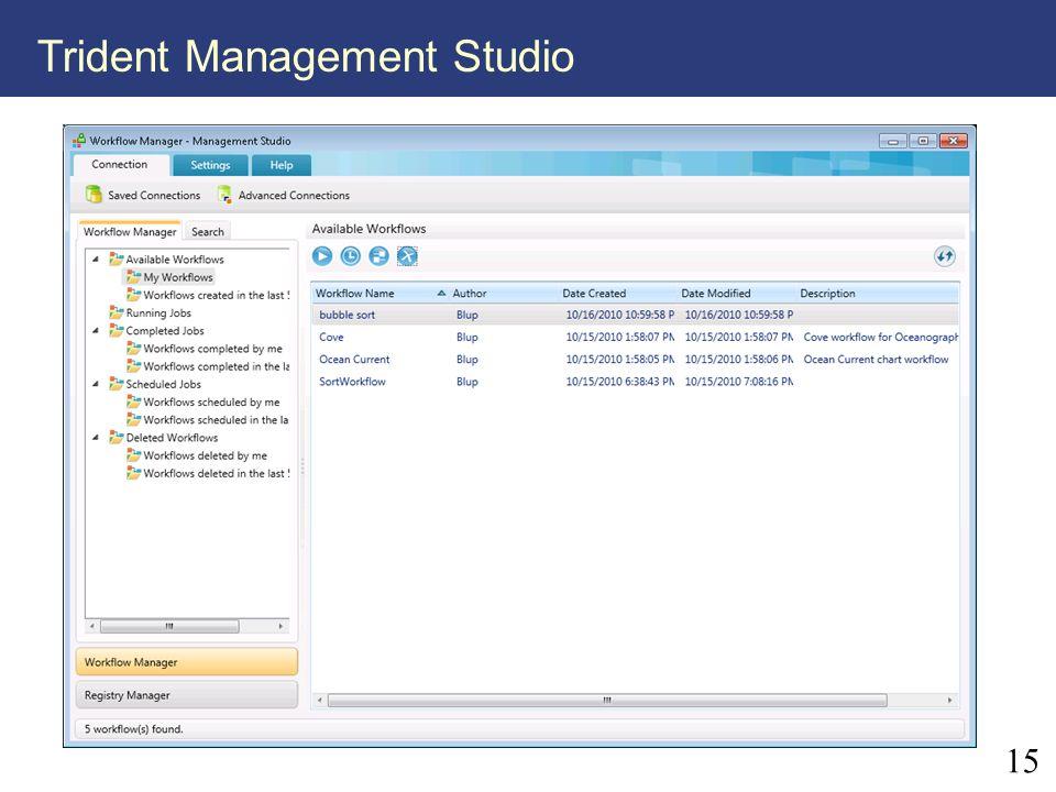 15 Trident Management Studio