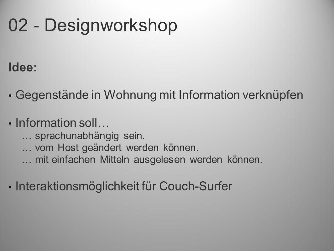 02 - Designworkshop
