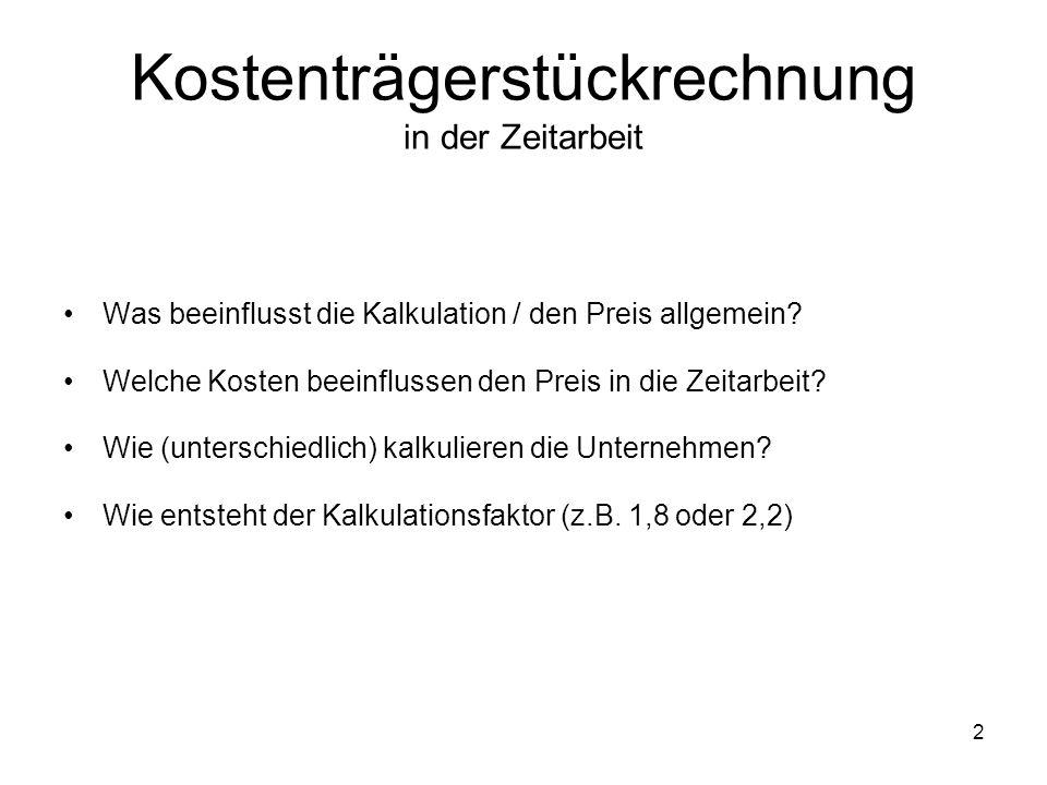 Beispiel B (Baustelle in Düsseldorf, Unternehmen stellt kompl.