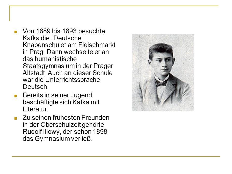 Er hatte Beziehungen mit folgenden Frauen: Felice Bauer, eine Berliner Angestellte, die Kafka am 13.