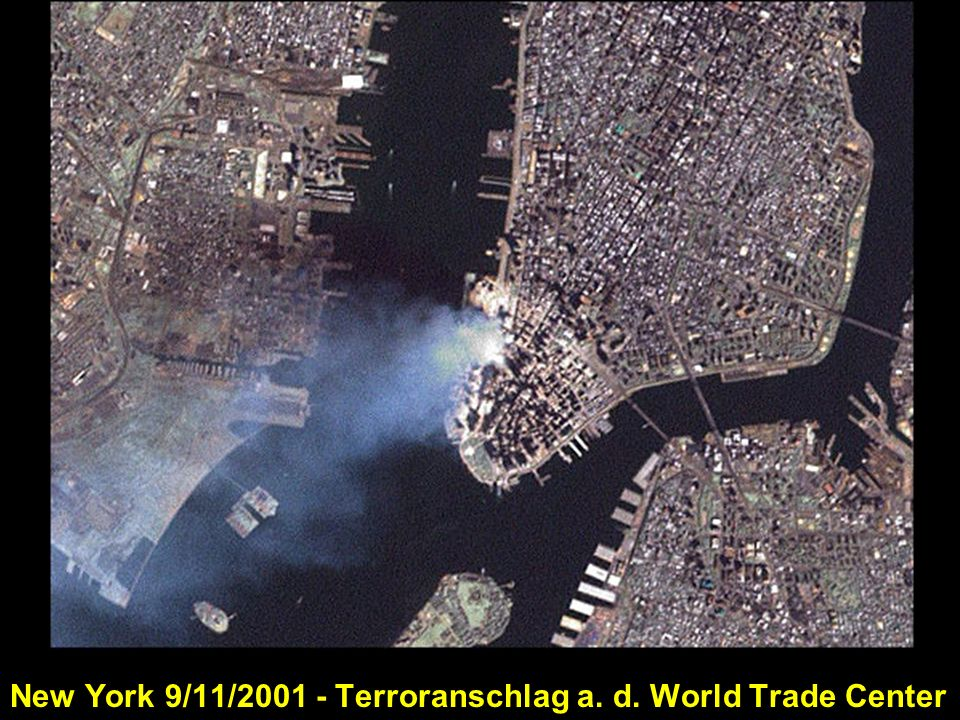 New York 9/11/2001 - Terroranschlag a. d. World Trade Center