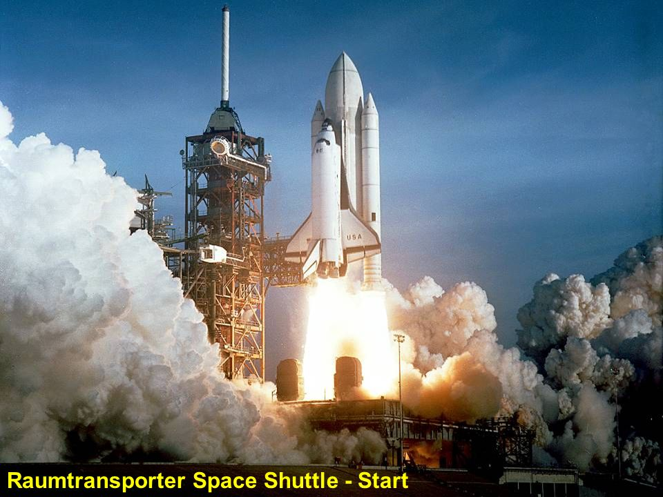 Raumtransporter Space Shuttle - Start
