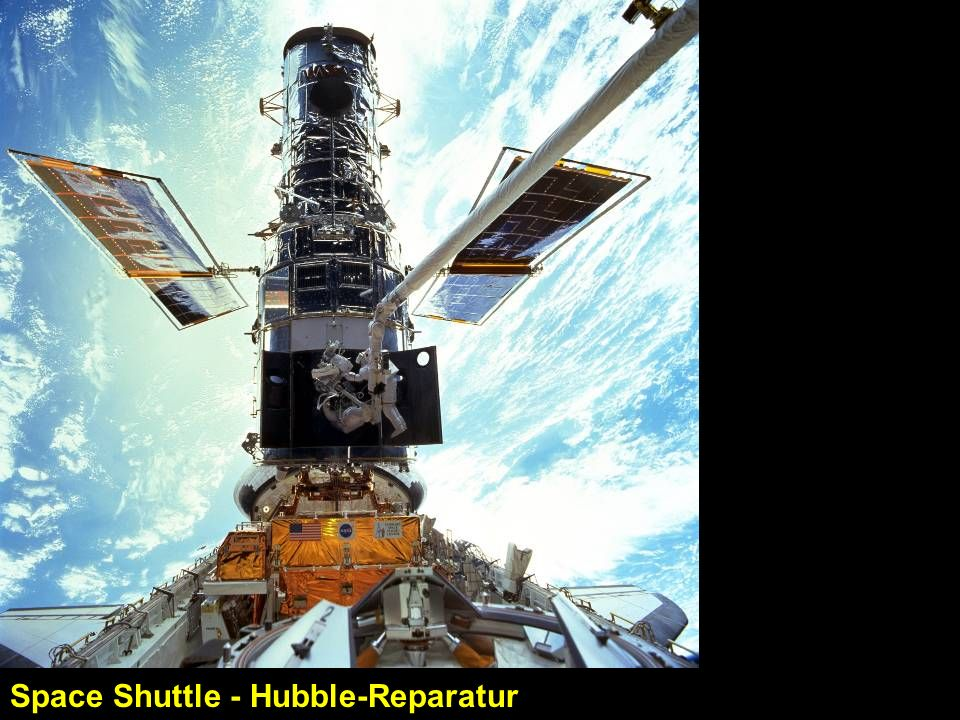 Space Shuttle - Hubble-Reparatur