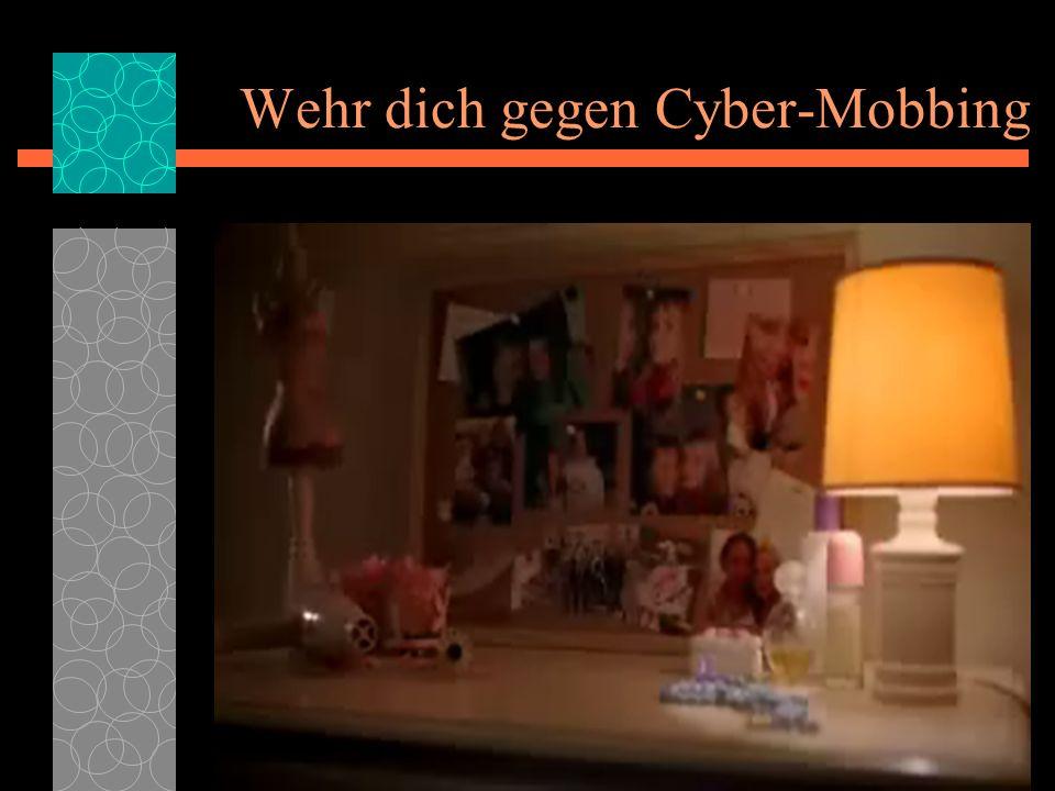 Wehr dich gegen Cyber-Mobbing 09.02.2014 11