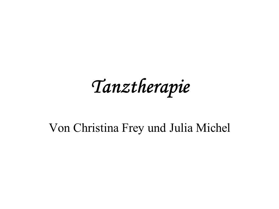 Tanztherapie Von Christina Frey und Julia Michel