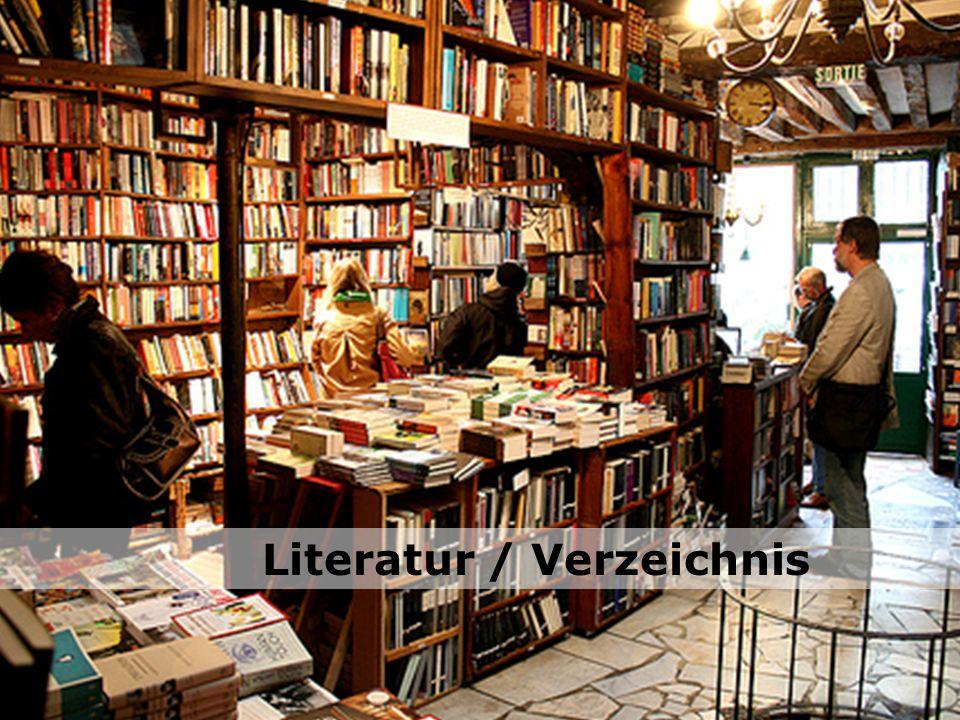 Literatur / Verzeichnis