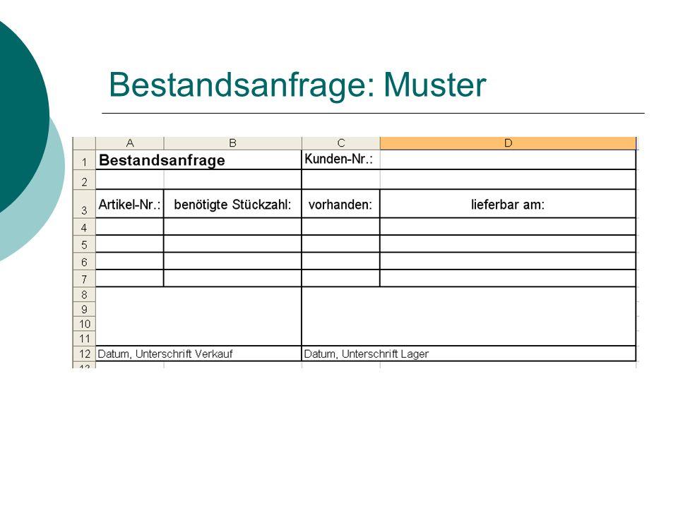 Zusammenfassung: komplette Anfrage- und Angebotsbearbeitung Bearbeiten Sie die folgende Anfrage der Emil Meister e.K..