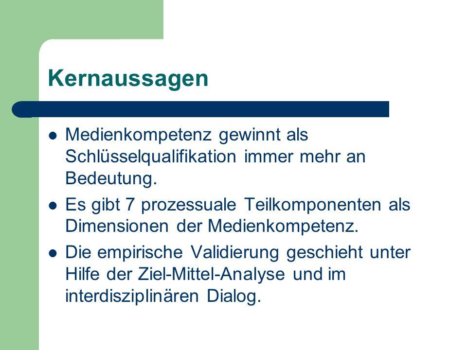 3.2 Medienspezifische Rezeptionsmuster technologisch - instrumentell vgl.