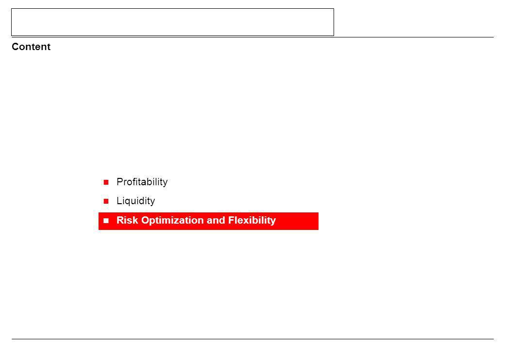 Profitability Liquidity Risk Optimization and Flexibility Content