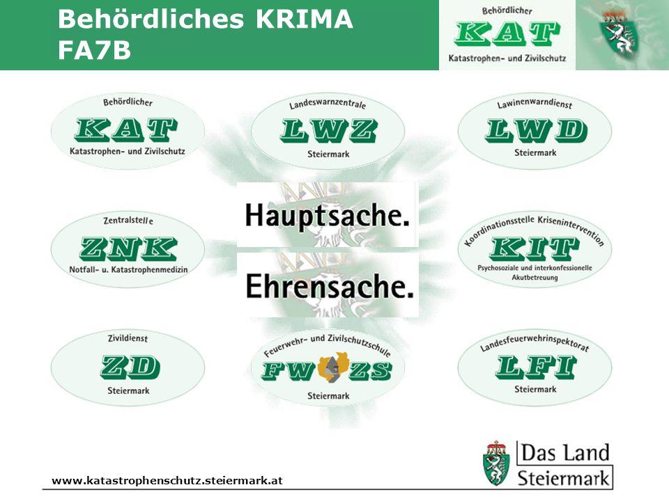 Autor www.katastrophenschutz.steiermark.at Behördliches KRIMA FA7B