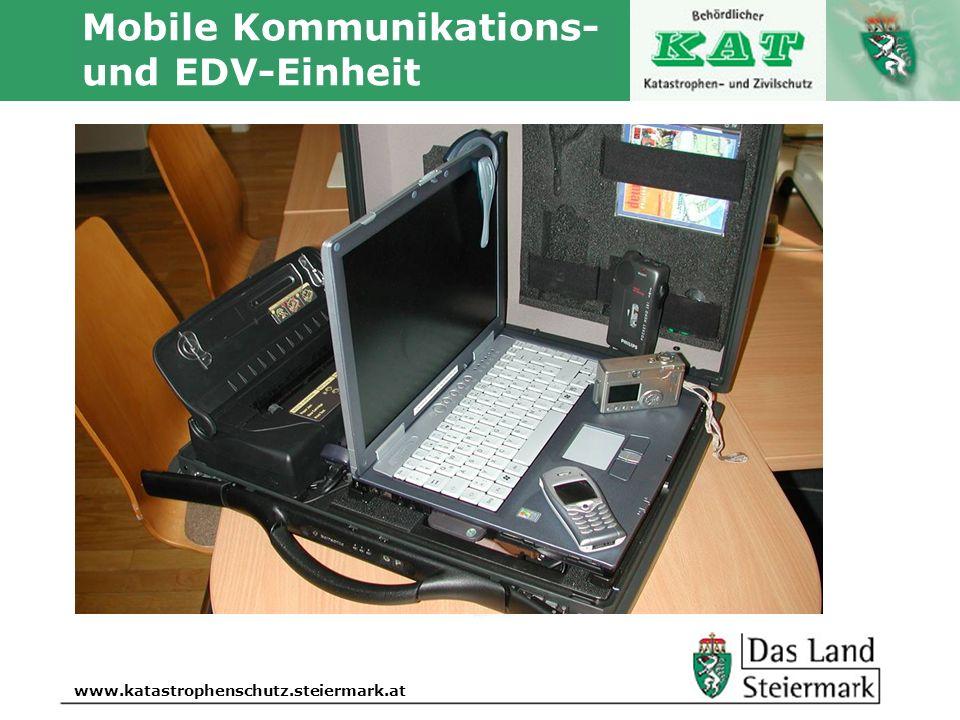 Autor www.katastrophenschutz.steiermark.at Mobile Kommunikations- und EDV-Einheit