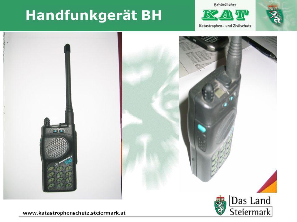 Autor www.katastrophenschutz.steiermark.at Handfunkgerät BH