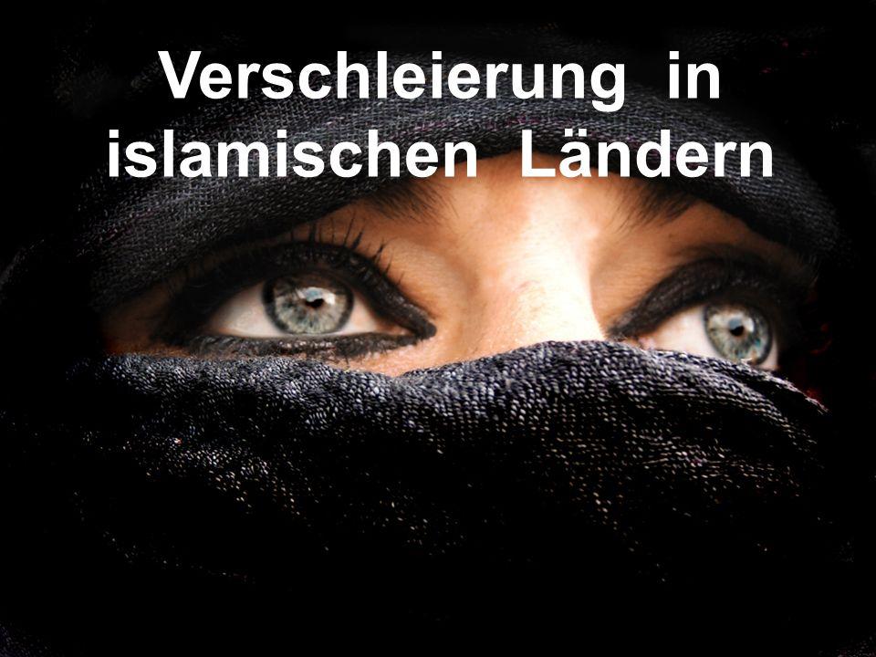 Verschleierung in islamischen Ländern