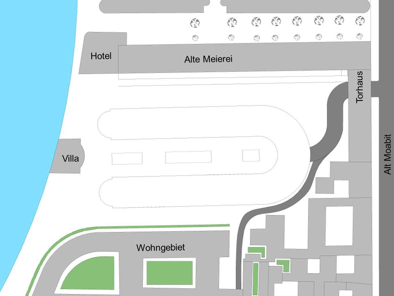 Hotel Alte Meierei Villa Wohngebiet Torhaus Alt Moabit
