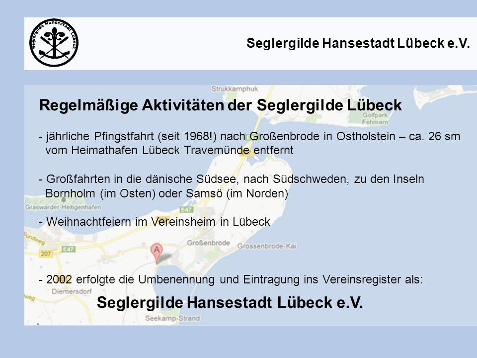 Gildenbeschluss vom Mai 2008 - die Exil-Lübecker in Berlin bauen die Vereinsaktivitäten in Berlin weiter aus.