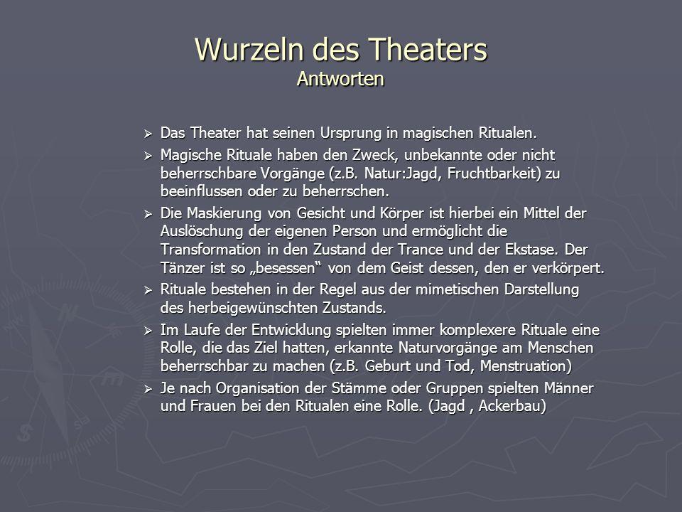 Vom Ritual zum Theater Komplexere Organisationsformen der Gesellschaft verändern auch die Vorstellung des Menschen von Natur und Kosmos.