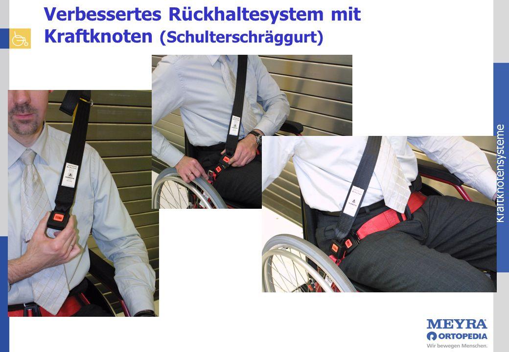 Kraftknotensysteme Verbessertes Rückhaltesystem mit Kraftknoten (Schulterschräggurt)