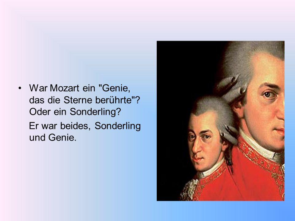 War Mozart ein