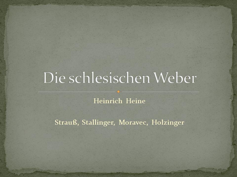 Heinrich Heine Strauß, Stallinger, Moravec, Holzinger