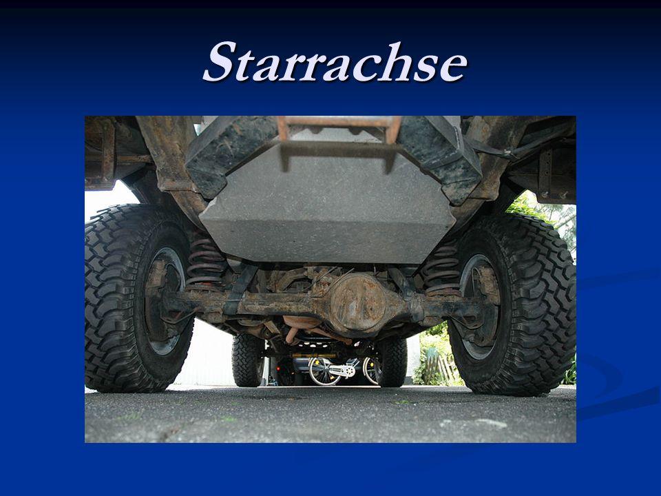 Starrachse