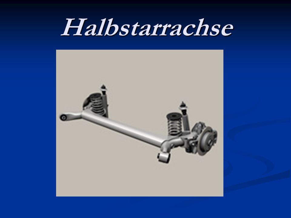 Halbstarrachse