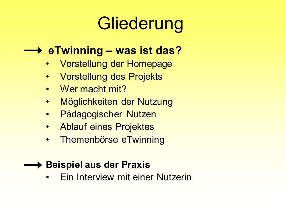 Homepage der Onlineplattform www.etwinning.de www.etwinning.net