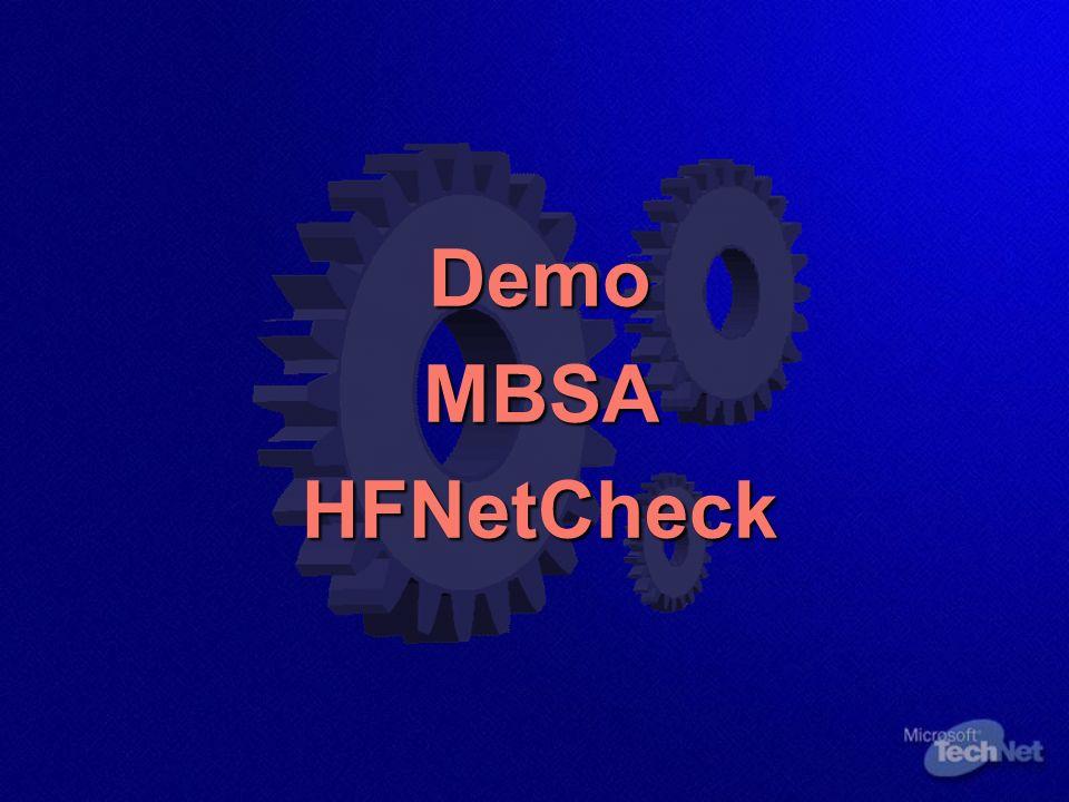 DemoMBSAHFNetCheck