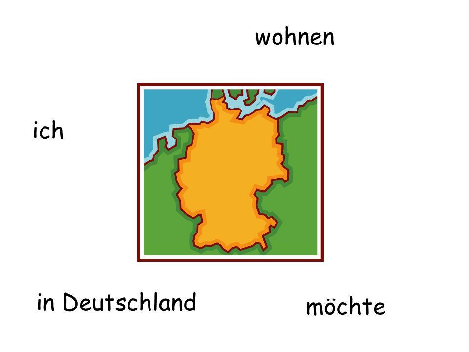 wohnen in Deutschland ich möchte