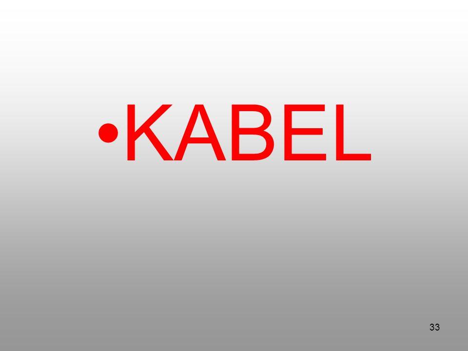33 KABEL