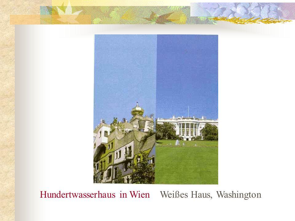 Hundertwasserhaus in Wien Weißes Haus, Washington
